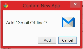 Add Gmail Offline