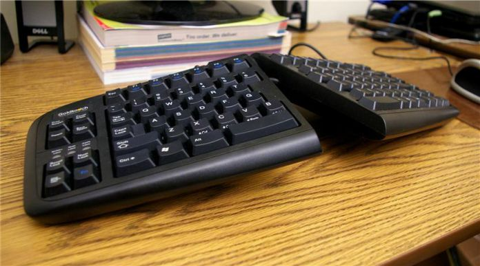 Adjustable Ergonomic keyboard and mouse