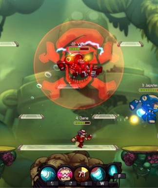 Awesomenauts- A 2D Multiplayer Online Battle Game