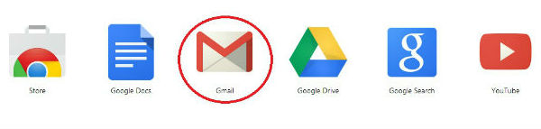 Select Gmail App