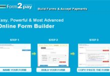 The meaning of a web form builder